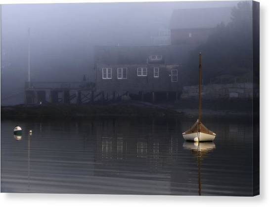 Still Of Morning  Canvas Print