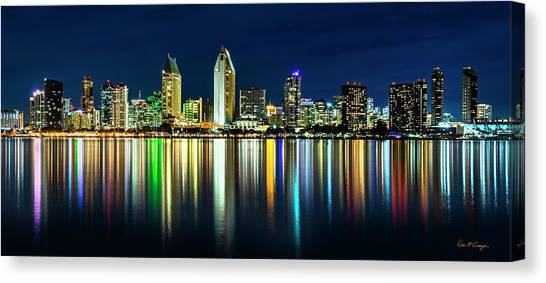 Canvas Print featuring the photograph Still Of The Night by Dan McGeorge