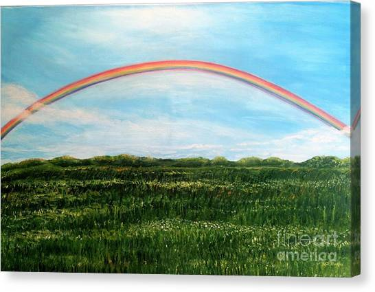 Still Searching For Somewhere Over The Rainbow? Canvas Print