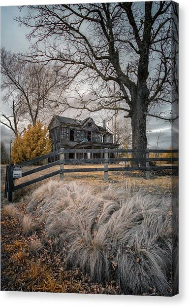 Still Standing Ir Canvas Print