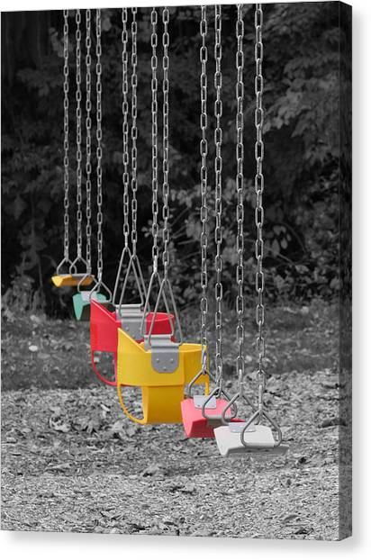 Still Swings Canvas Print