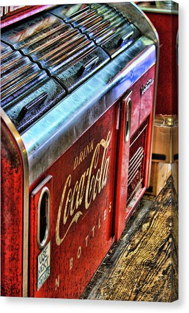 Coca Cola Canvas Print - Still The Real Thing by Joetta West
