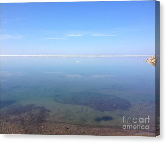 Canvas Print - Still Tranquil Waters by Anne Cameron Cutri