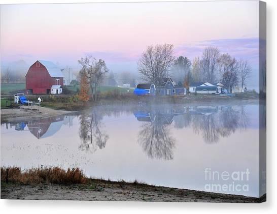 Still Waters On Stoneledge Lake Canvas Print