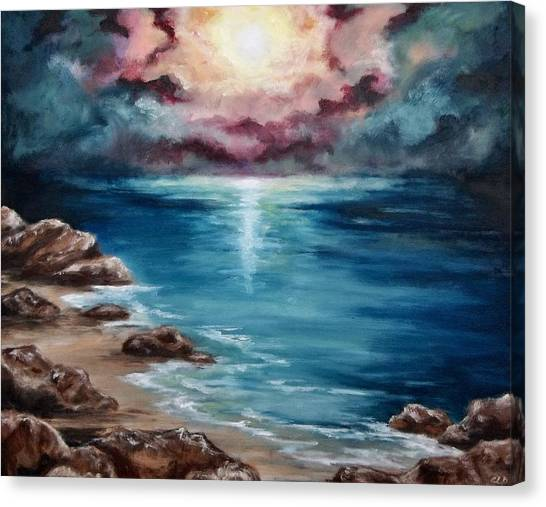 Still Waters Run Deep Canvas Print