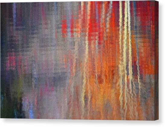 Beavers Canvas Print - Stillness And Movement ~ Autumnal by Sarah Schwartz