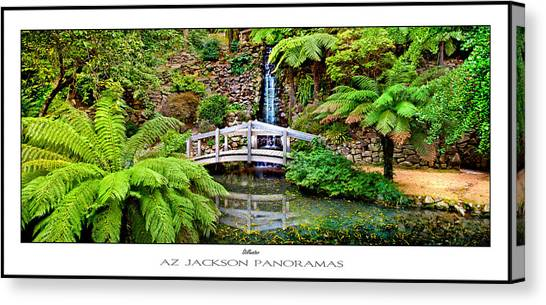 Victoria Falls Canvas Print - Stillwater Poster Print by Az Jackson