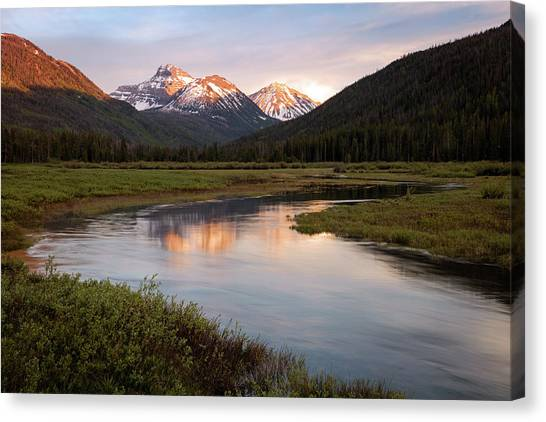 Uinta Canvas Print - Stillwater Sunset by Johnny Adolphson