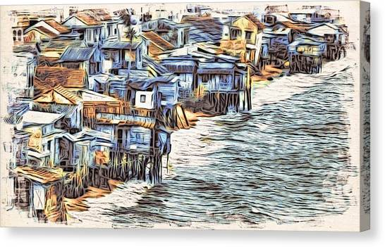 Stiltsville Canvas Print
