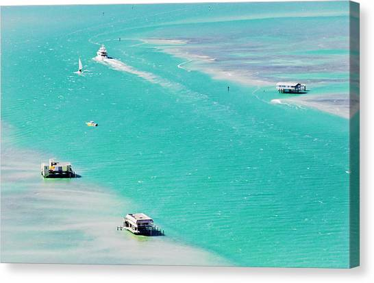 Stiltsville Canvas Print