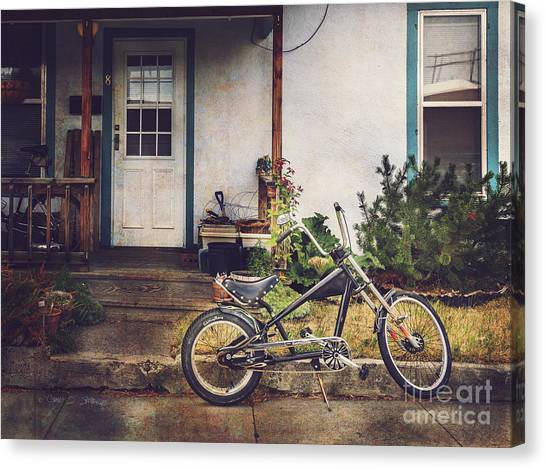 Sting Ray Bicycle Canvas Print