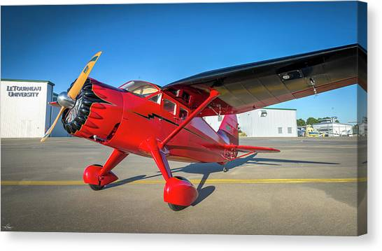 Aac Canvas Print - Stinson Reliant Rc Model 03 by Phil Rispin