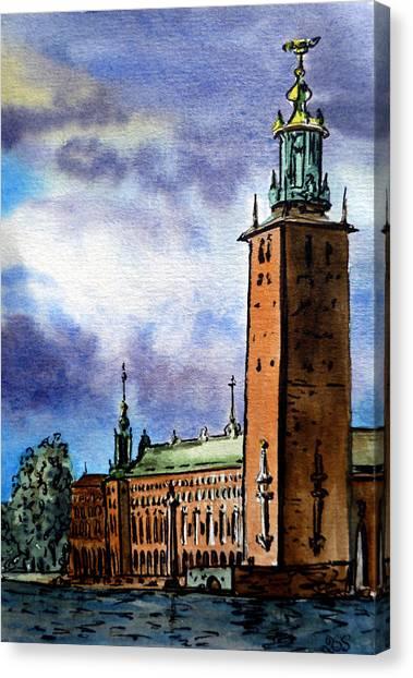 Stockholm Sweden Canvas Print
