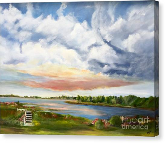 Stoker's  Swift Creek Canvas Print