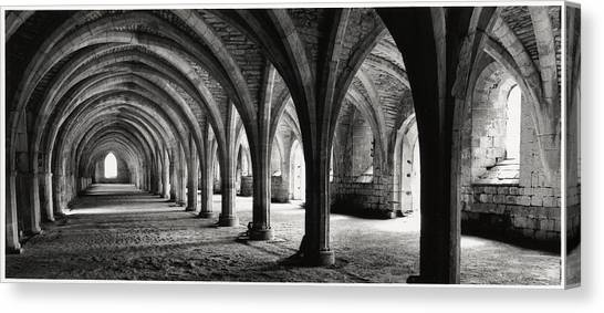 Stone Arches Canvas Print by Michael Hudson