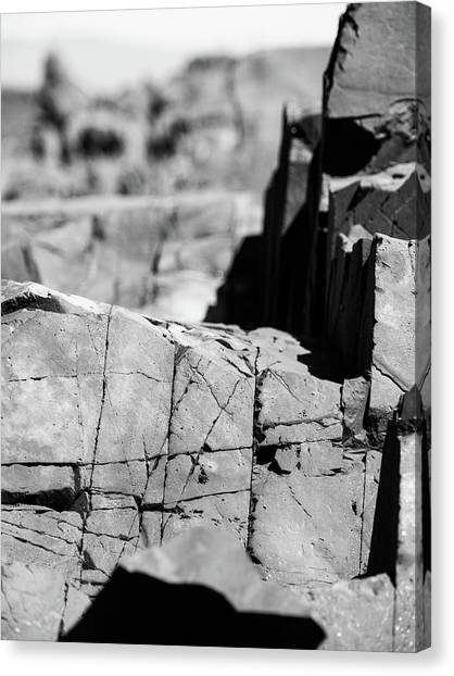 Stone Architecture Canvas Print