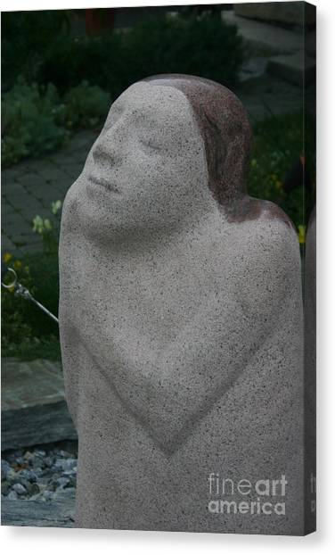 Stone Art Canvas Print by Dennis Curry
