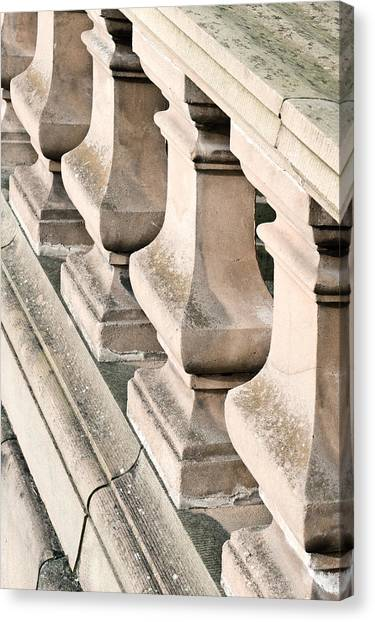 Balusters Canvas Print - Stone Bannister by Tom Gowanlock