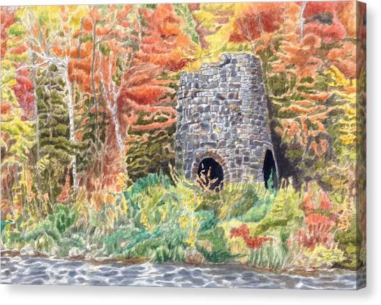 Stone Furnace Canvas Print