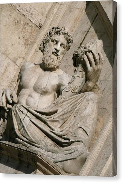 Roman Art Canvas Print - Stone by MGhany
