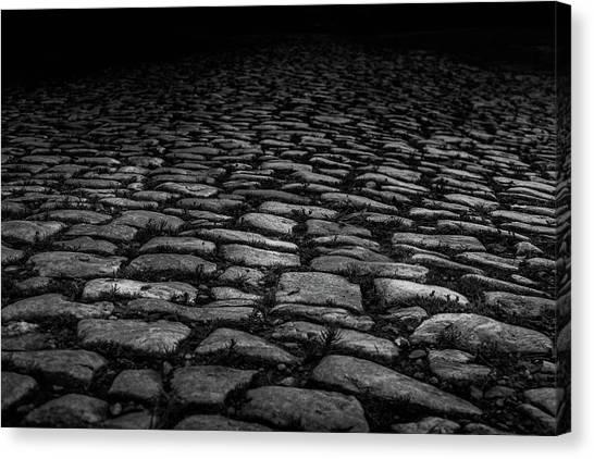 Canvas Print featuring the photograph Stone Path by Doug Camara
