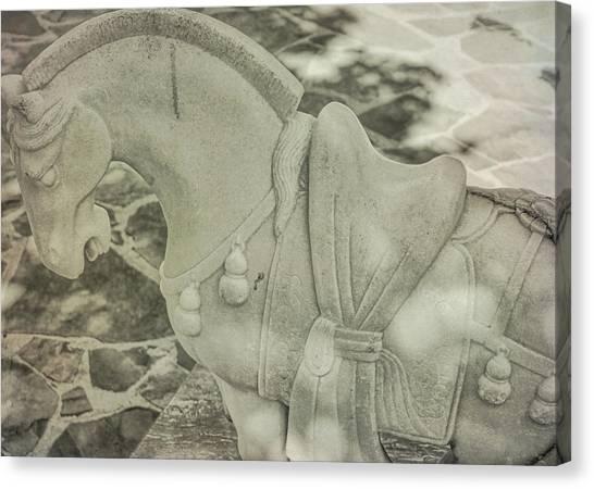 Stone Power Canvas Print by Dressage Design