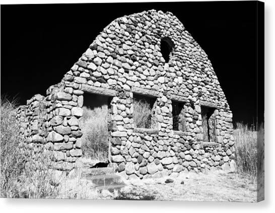 Stone Ruins Canvas Print