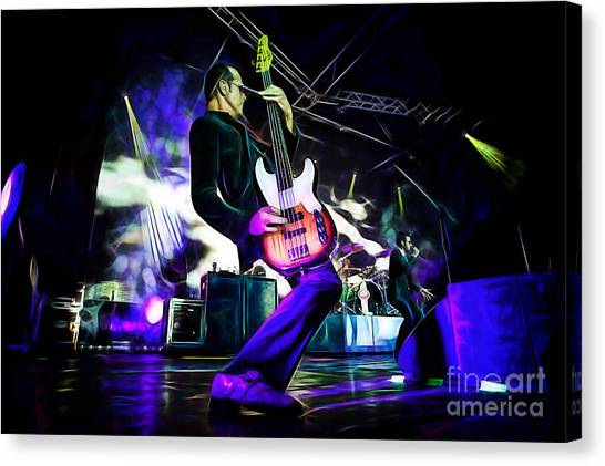 Stone Temple Pilots Canvas Print - Stone Temple Pilots Collection by Marvin Blaine