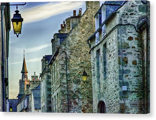 Stone Walled Canvas Print