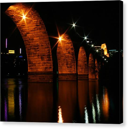 Stonearch Bridge - Minneapolis Canvas Print