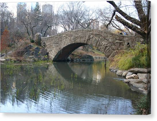 Stoned Bridge Canvas Print by Dennis Curry