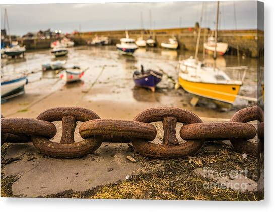 Stonehaven Chain Canvas Print