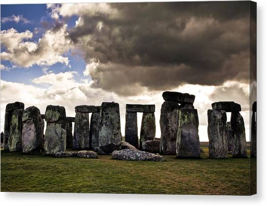 Stonehenge After The Storm Canvas Print