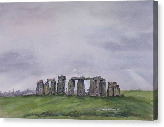 Stonehenge  Canvas Print by Debbie Homewood