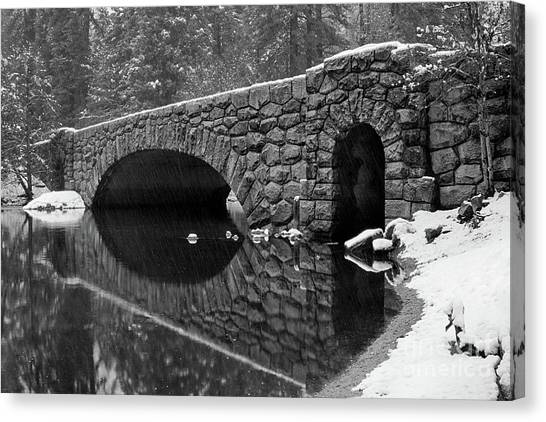 Stoneman Bridge Canvas Print