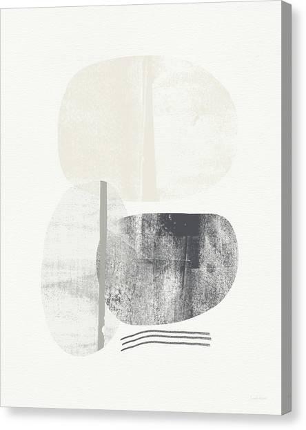 Circle Canvas Print - Stones 2- Art By Linda Woods by Linda Woods