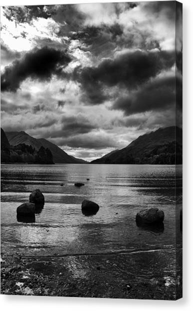 Canvas Print featuring the photograph Stones by Adrian Pym