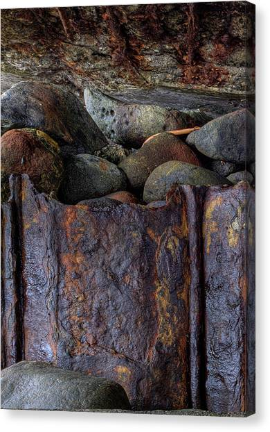 Rusted Stones 1 Canvas Print