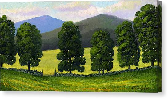 Stonewall Field Canvas Print