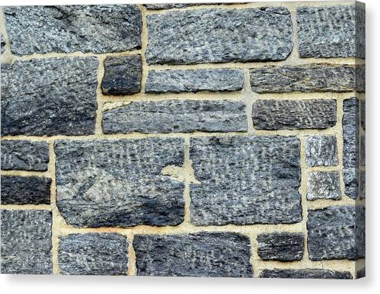 Texture Canvas Print - Stonewalling by Sandy Taylor