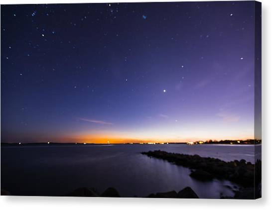 Stonington Skies Canvas Print
