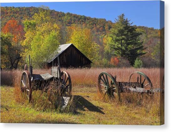 Stony Creek Farm Canvas Print