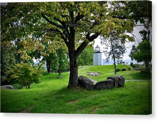 Stony Point Landscape Canvas Print