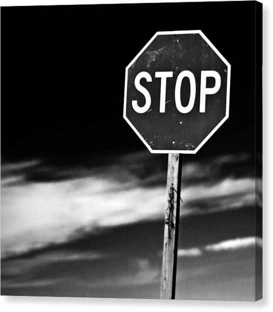 Canvas Print - Stop by James Bull