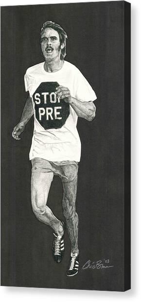 Stop Pre Canvas Print