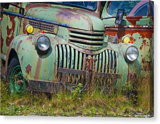Stopped For Good Canvas Print