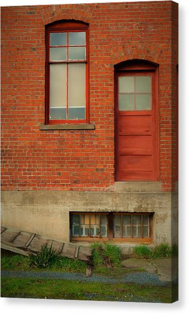 Stores Building Canvas Print