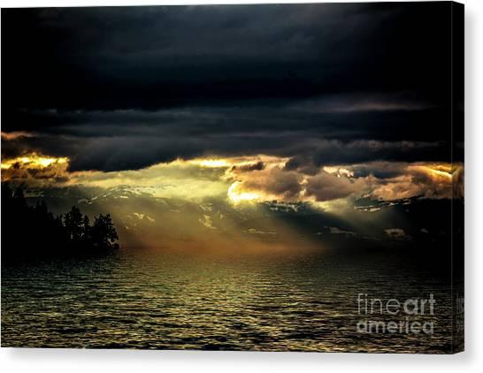 Storm 4 Canvas Print