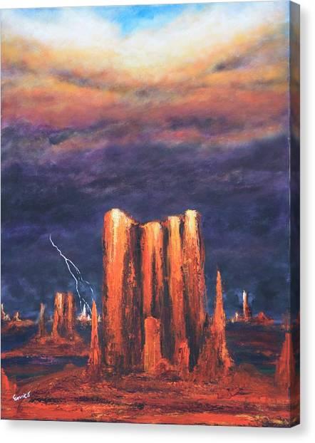Storm Break 2 Canvas Print