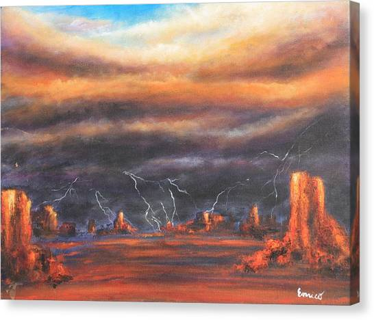 Storm Break Canvas Print